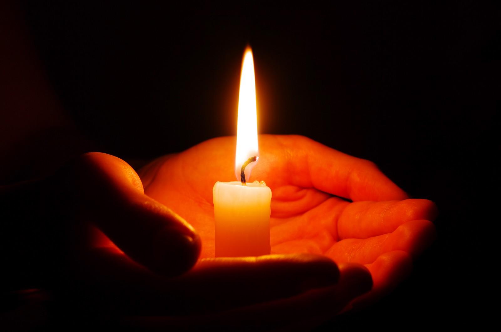 Картинки, картинки с горящей свечой скорби